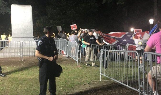 Silent Sam protests continue nearly two weeks after toppling